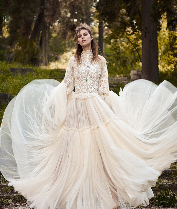 Costarellos wedding dresses 2018 spring bridal collection chic wedding dresses costarellos junglespirit Image collections