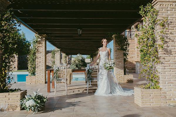 Elegant wedding inspiration shoot at the chatzi mansion - Chic Amp Stylish Weddings