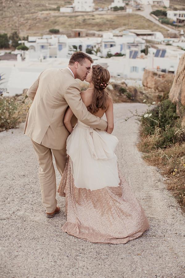 Elegant wedding inspiration shoot at the chatzi mansion - Intimate Destination Wedding In Mykonos Kate Amp Donovan
