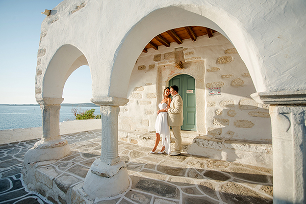 Beautiful destination wedding in Paros | Aurore & Danny