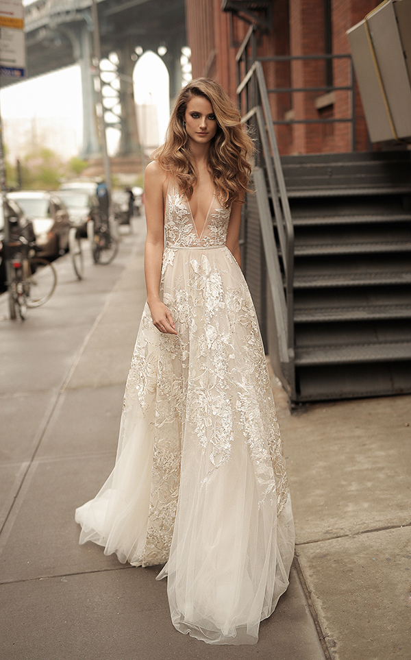 Stunning Wedding Gowns Anza Sweetheart Beaded Crystal Liques