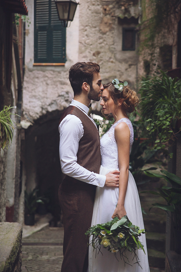 Botanical wedding inspiration shoot in Italy