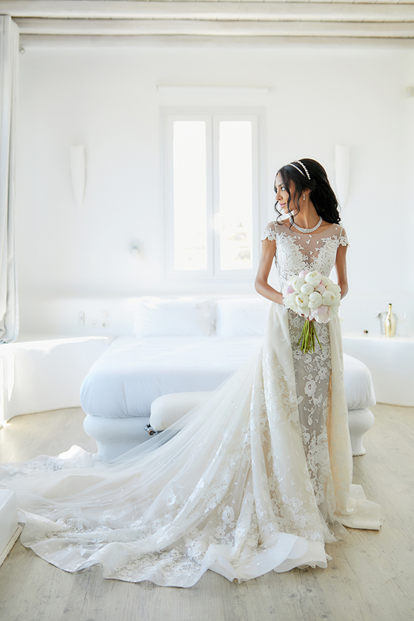 chic-glamorous-wedding-in-mykonos-amazing-berta-wedding-dress-1