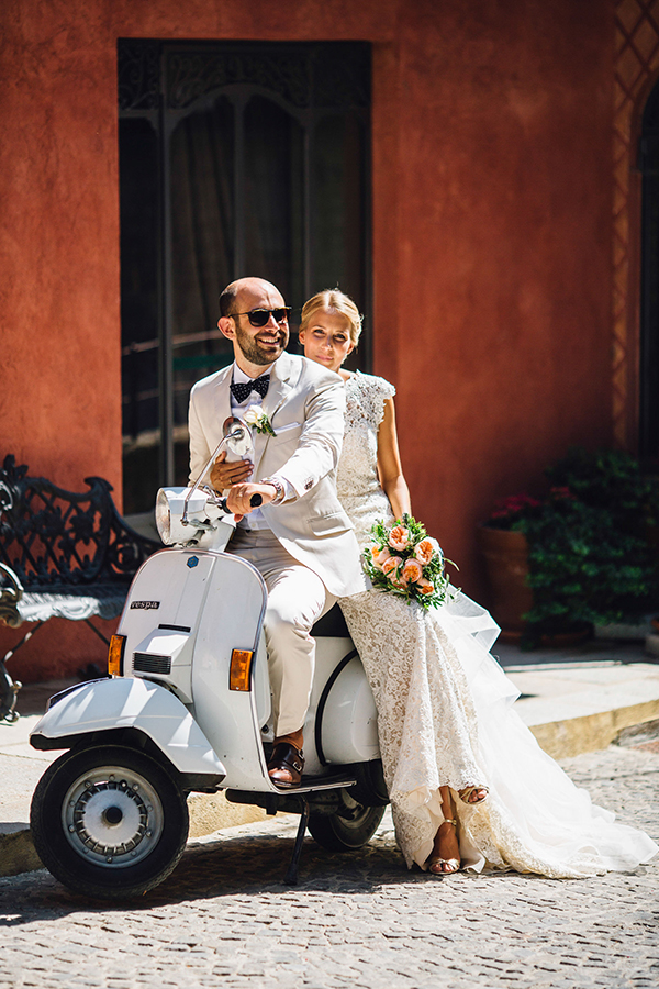 Gorgeous destination wedding in Italy | Fabienne & Fabio