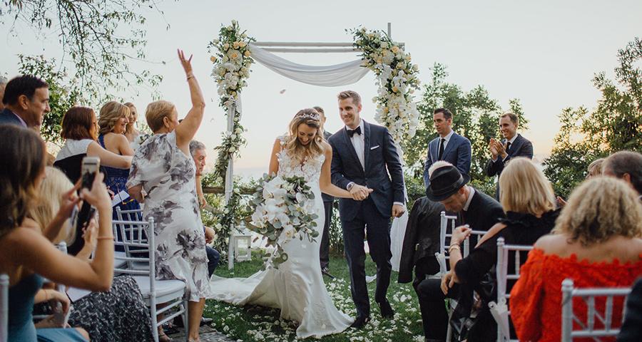 Intimate Elegant Wedding In Positano Chic Stylish Weddings