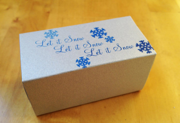 Custom Printed Favor Box