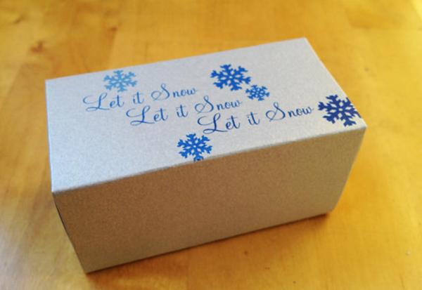 Custom Printed Favor Box