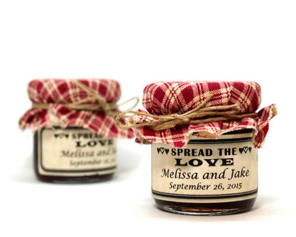 Mini jam/honey jars