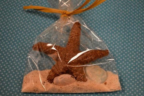 Starfish Chocolate Favors