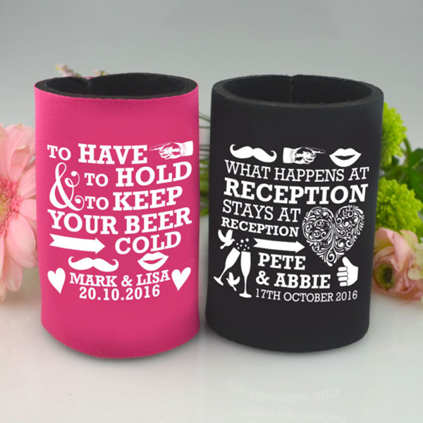Wedding Stubby Holders