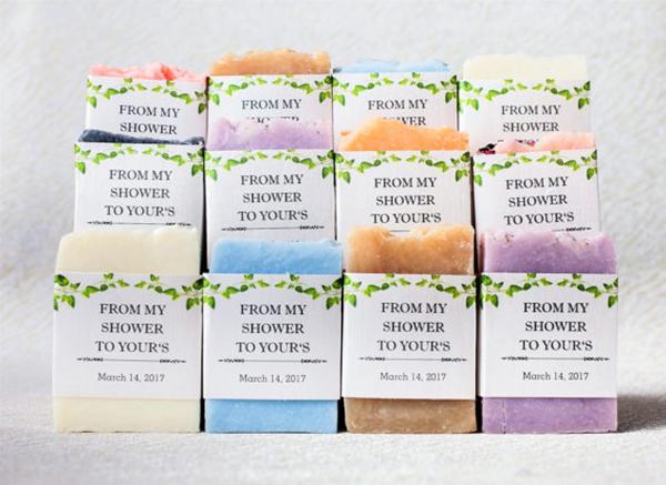 mini Wedding favor soaps