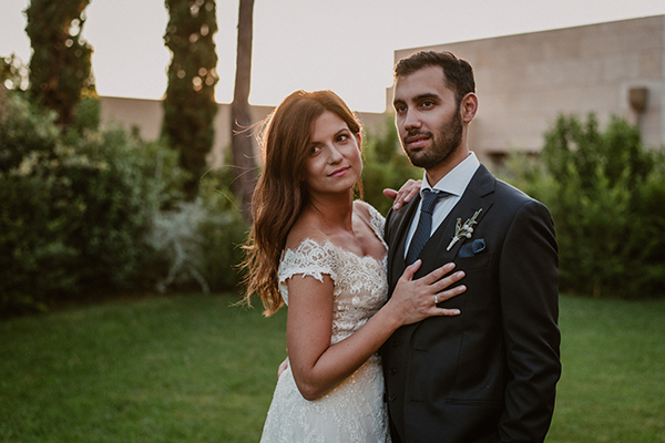 Romantic wedding in Greece | Antonia & Konstantinos