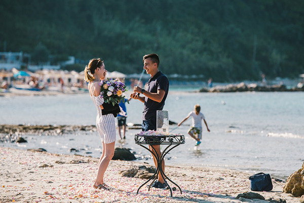 Surprise Wedding Proposal At The Beach