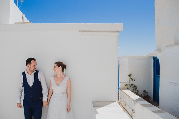 Beautiful summer wedding in Tinos | Michaela & Giannis