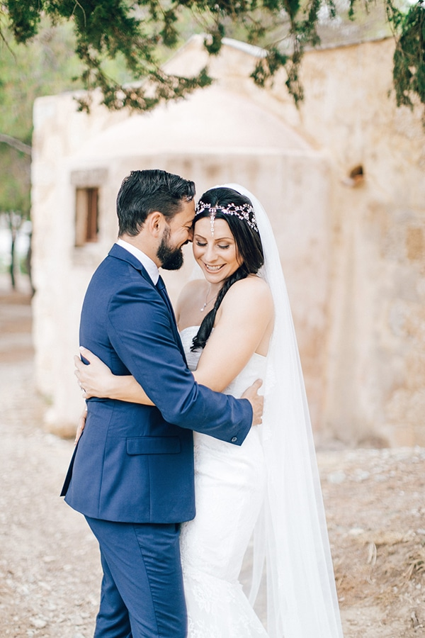 Beautiful rustic wedding in Crete | Lara & James