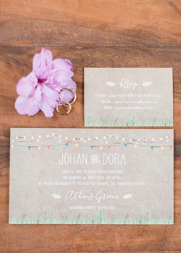 beautiful rustic wedding pink yellow peach tones-10