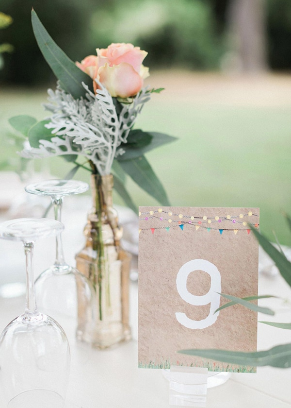 beautiful rustic wedding pink yellow peach tones-29