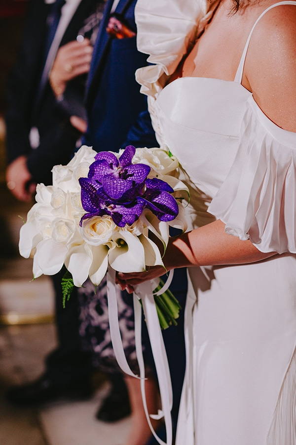 simple chic wedding blue white purple shades-21