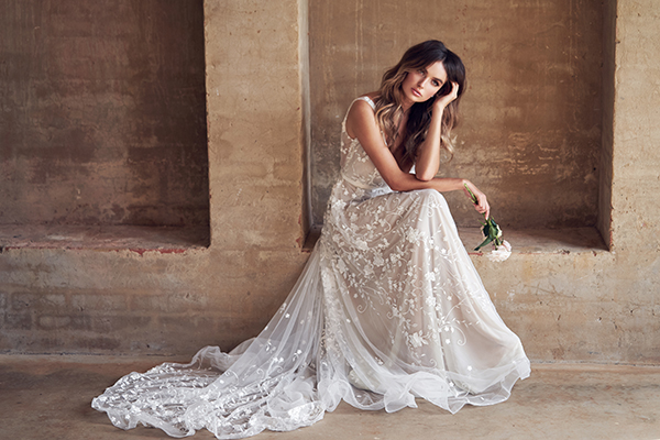 Dreamy wedding dresses for modern bohemian brides | Anna Campbell – Wanderlust collection