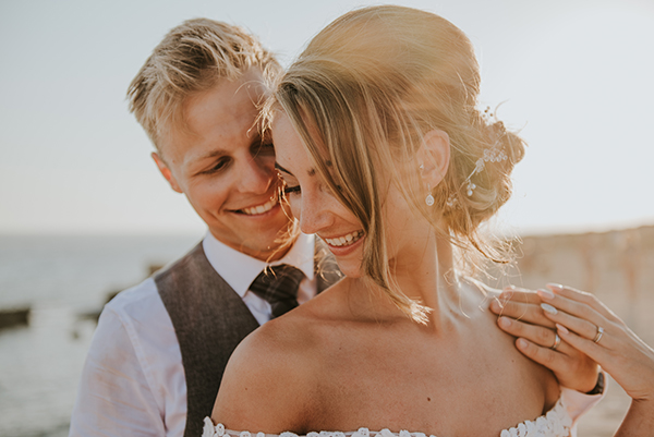 Dreamy wedding overlooking the ocean | Victoria & Jonathan
