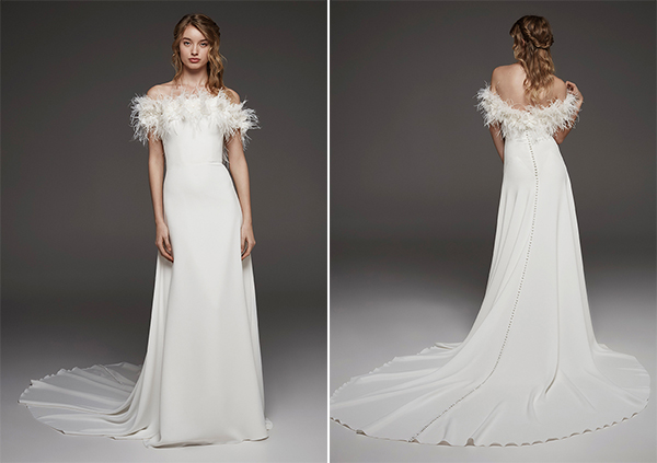 Stunning Wedding Dresses For A Dreamy Look