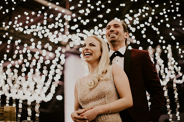 Glamorous New Year?s Eve wedding | Marianna & Andreas
