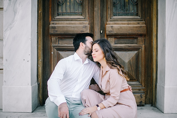 Beautiful prewedding photoshoot in Athens | Katerina & Stavros
