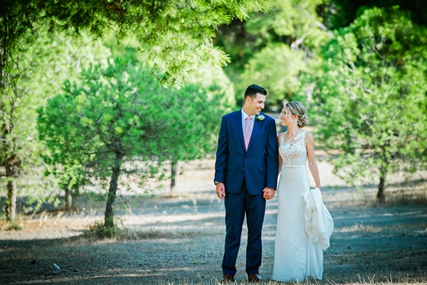 Beautiful garden wedding in the Athenian Riviera ?Paige & Alex