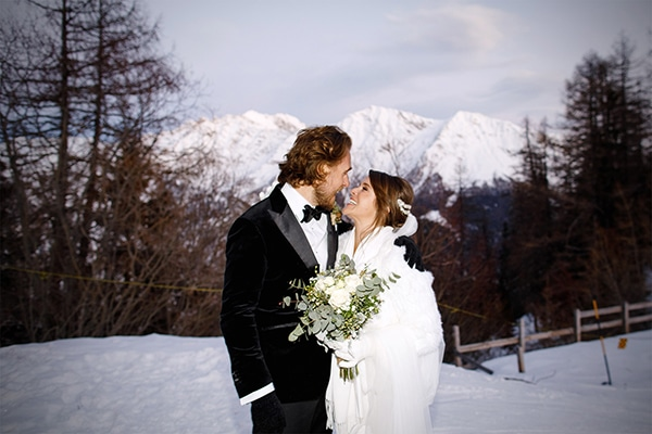 Winter romantic wedding in Italy | Cara & Jonathan
