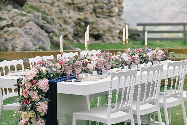841a1b4c56 Romantic wedding decoration in pastel hues