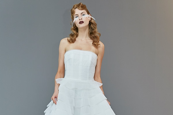 Unique bridal collection inspired by the 60s Hollywood glamour | Francesca Miranda 2020