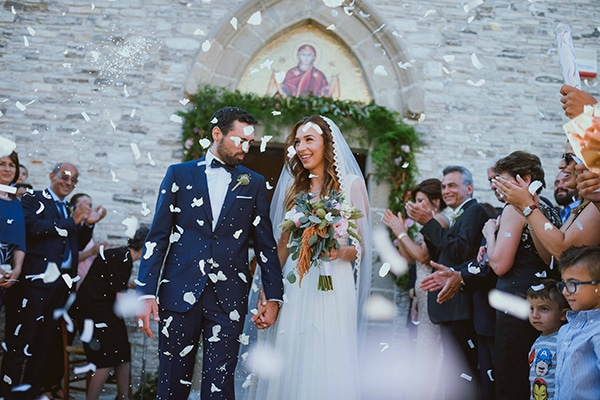 Gorgeous rustic wedding at a village in Cyprus
