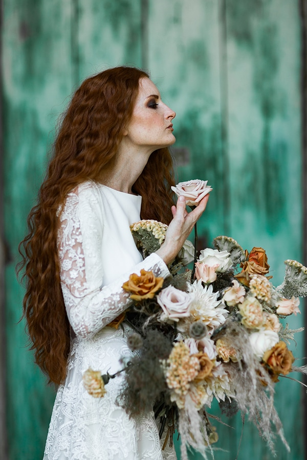 Beautiful autumn styled shoot in Italy