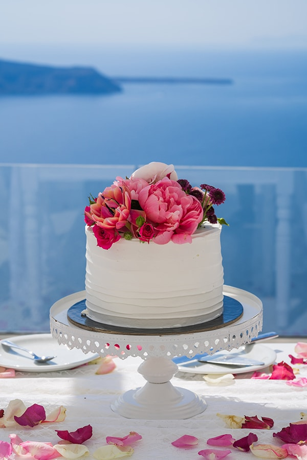 beautiful-intimate-santorini-wedding-fresh-fuchsia-flowers_17
