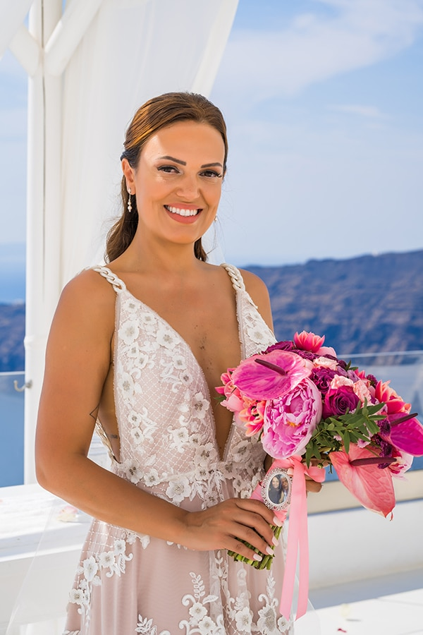 beautiful-intimate-santorini-wedding-fresh-fuchsia-flowers_21
