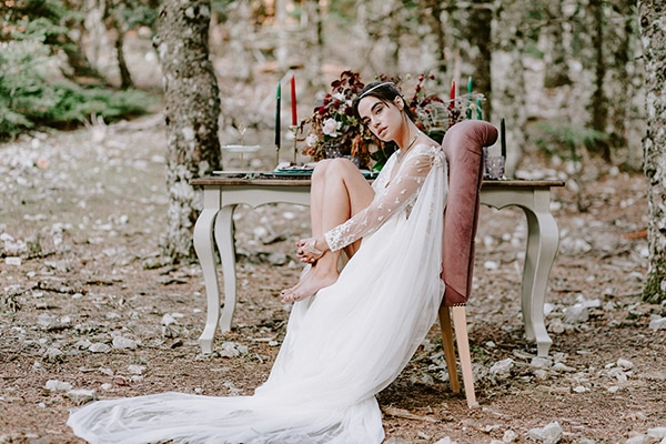 Dreamy fall wedding inspiration with warm colors