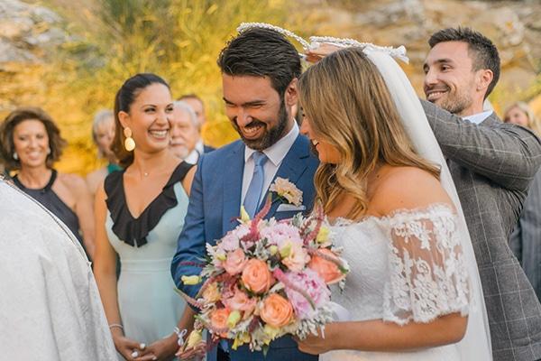dcd0d5b8e64 Romantic summer wedding in Kea   Alexia & Napoleon